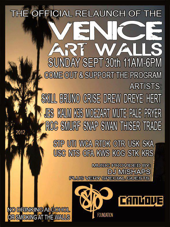 Relaunch of the Venice Art Walls – Colors In Los Angeles